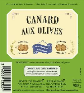 Canard aux Olives